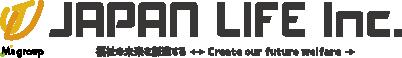 福祉の未来を創造する-ジャパンライフ ロゴ